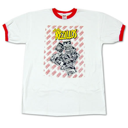 CAN'T STAND THE REZILLOS (キャント スタンド ザ レジロス)/REZILLOS (レジロス)【海外バンドTシャツ】