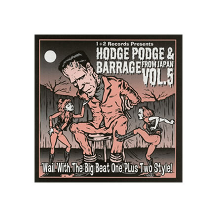 HODGE PODGE&BARRAGE VOL.5/PREFAB (プレハブ)他【CD】