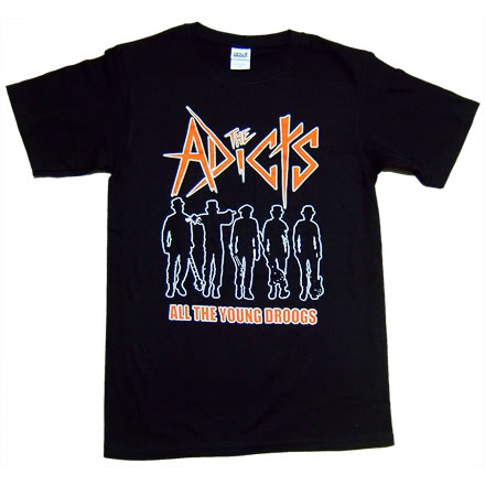 All The Young Droogs (オール ザ ヤング ドルーグズ)/ADICTS (アディクツ)【海外バンドTシャツ】